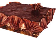 Torta de Mousse de Laranja e Chocolate