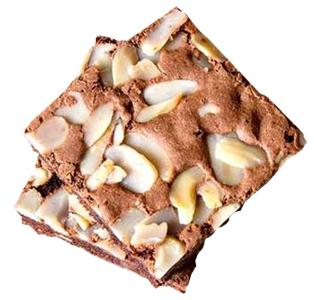 Brownie com Goiabada e Castanha do Pará