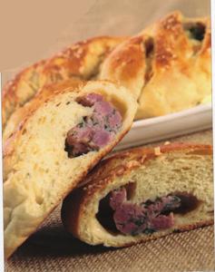 Pão de Mandioca com Linguiça