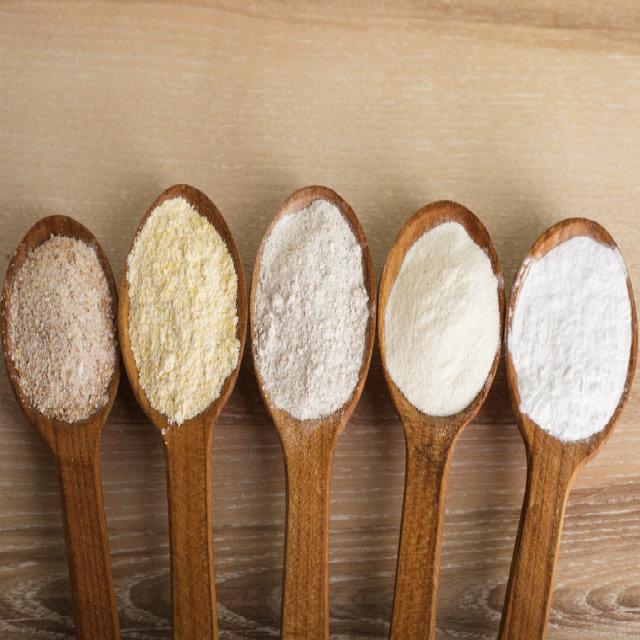 Conheça 4 tipos de farinha