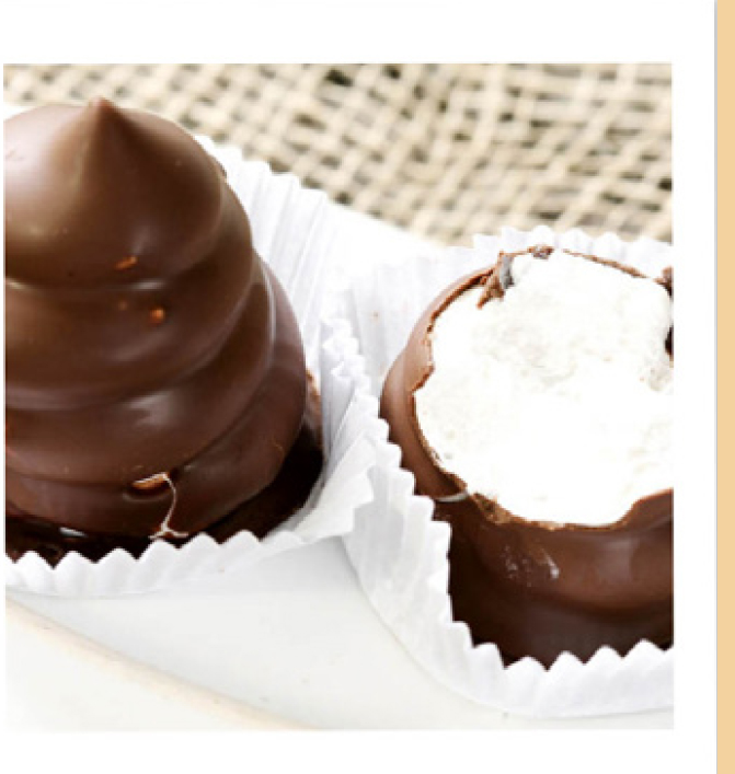 Bombom de Marshmallow