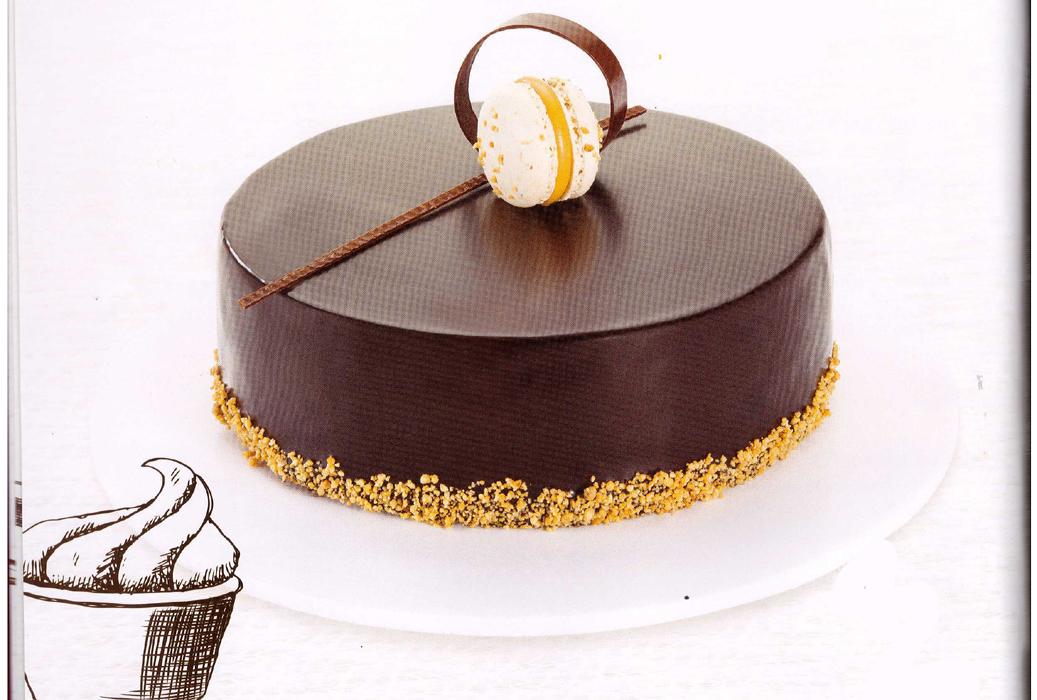 Torta Mousse de Chocolate Crocante