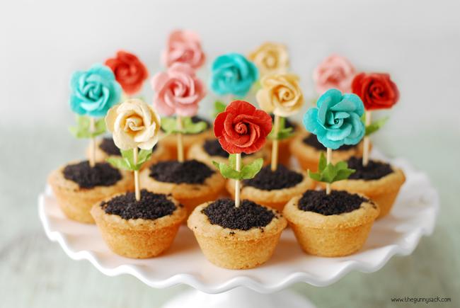 Vasinhos de Flores Comestíveis