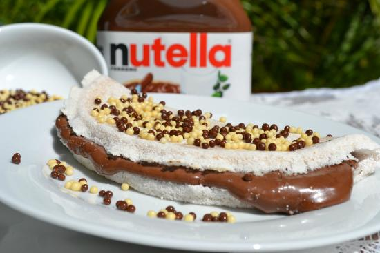 Tapioca com Nutella