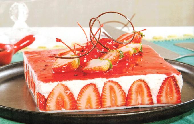 Torta Fraise