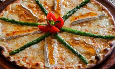 Pizza de Queijo Brie