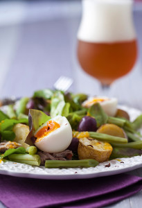 Salada com Molho Cítrico