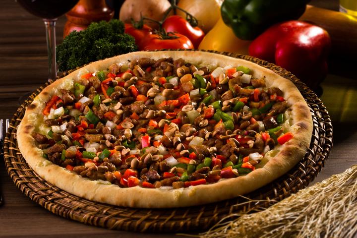 Pizza de cora