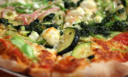 Pizza de Abobrinha com Mascarpone