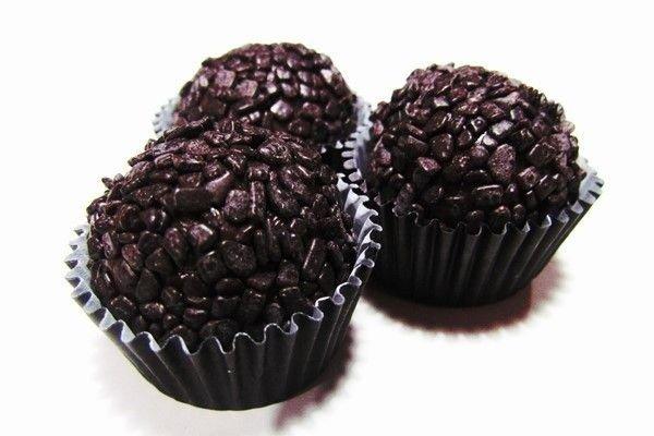 Brigadeiro de Enrolar de Chocolate Meio Amargo