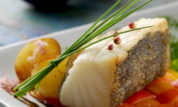 Bacalhau em Crosta com Redução de Vinho do Porto