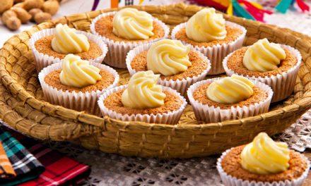 Muffin de Amendoim com Catupiri