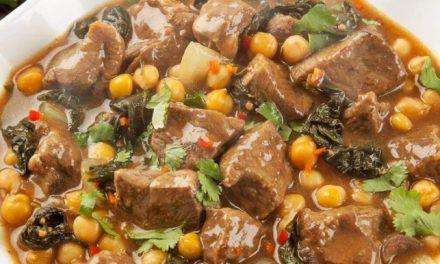 Cordeiro com Curry ao Molho Agridoce