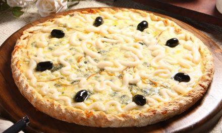 Pizza 5 Queijos Especiais